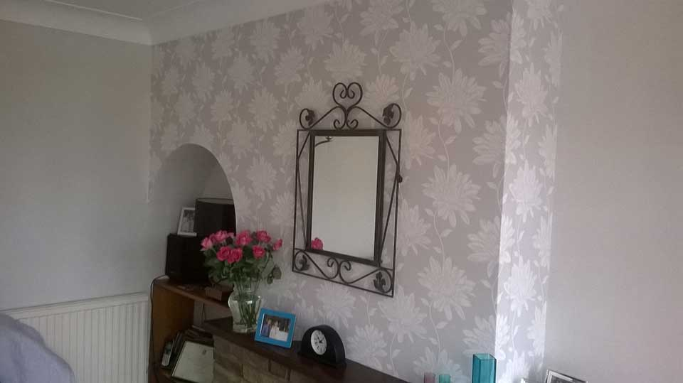 Arched Wallpapering 1