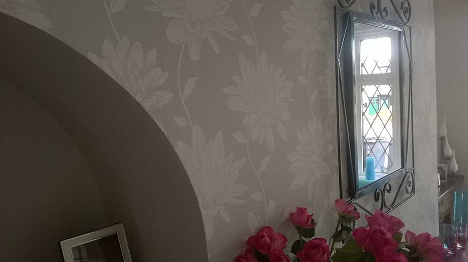 Arched Wallpapering 2