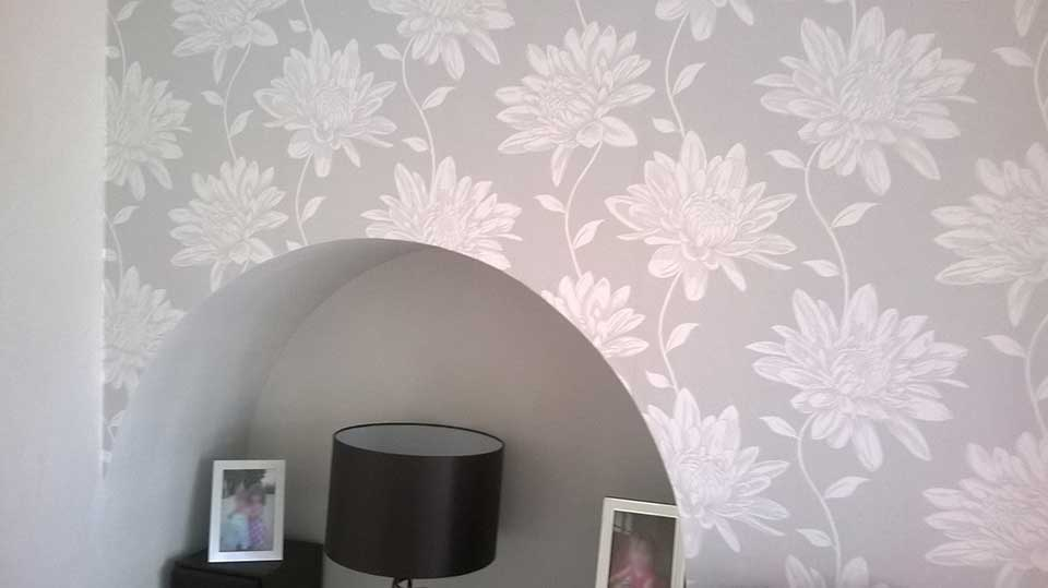 Arched Wallpapering 3