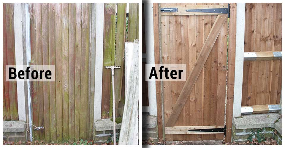Garden Gate Replacement